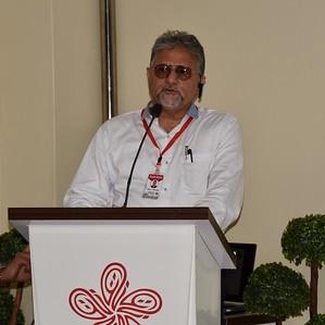 Mr. Alam Zaidi, father of son with hemophilia