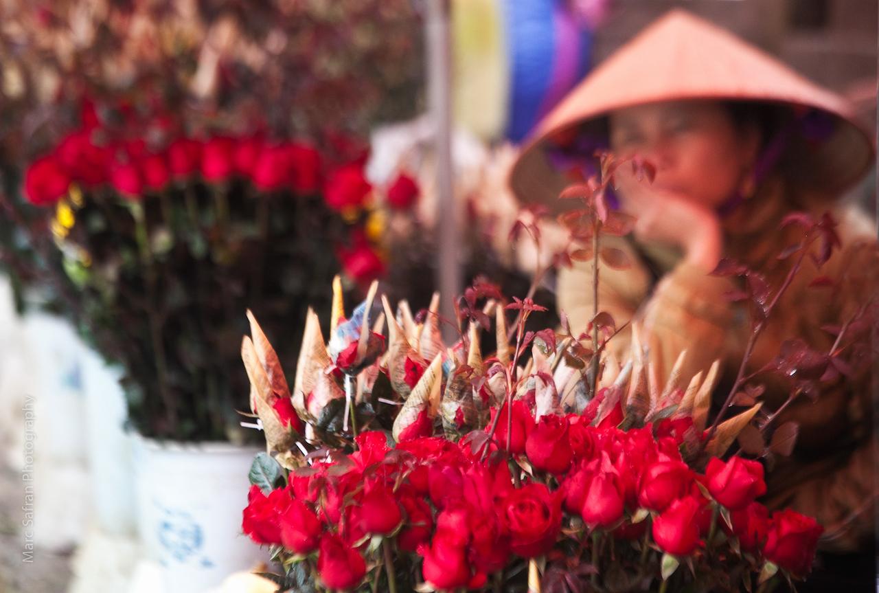 Flower vendor Sapa, Vietnam Vietnam