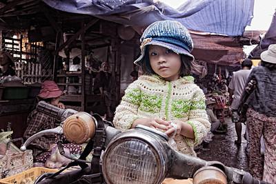 Girl on Motorcycle Hoi An, Vietnam Vietnam