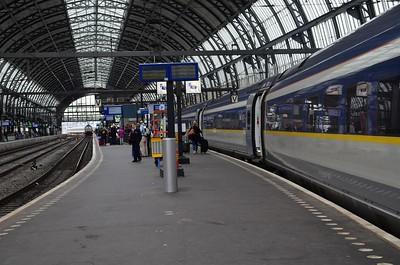 Eurostar: London to Amsterdam Direct. Saturday 2nd June 2018