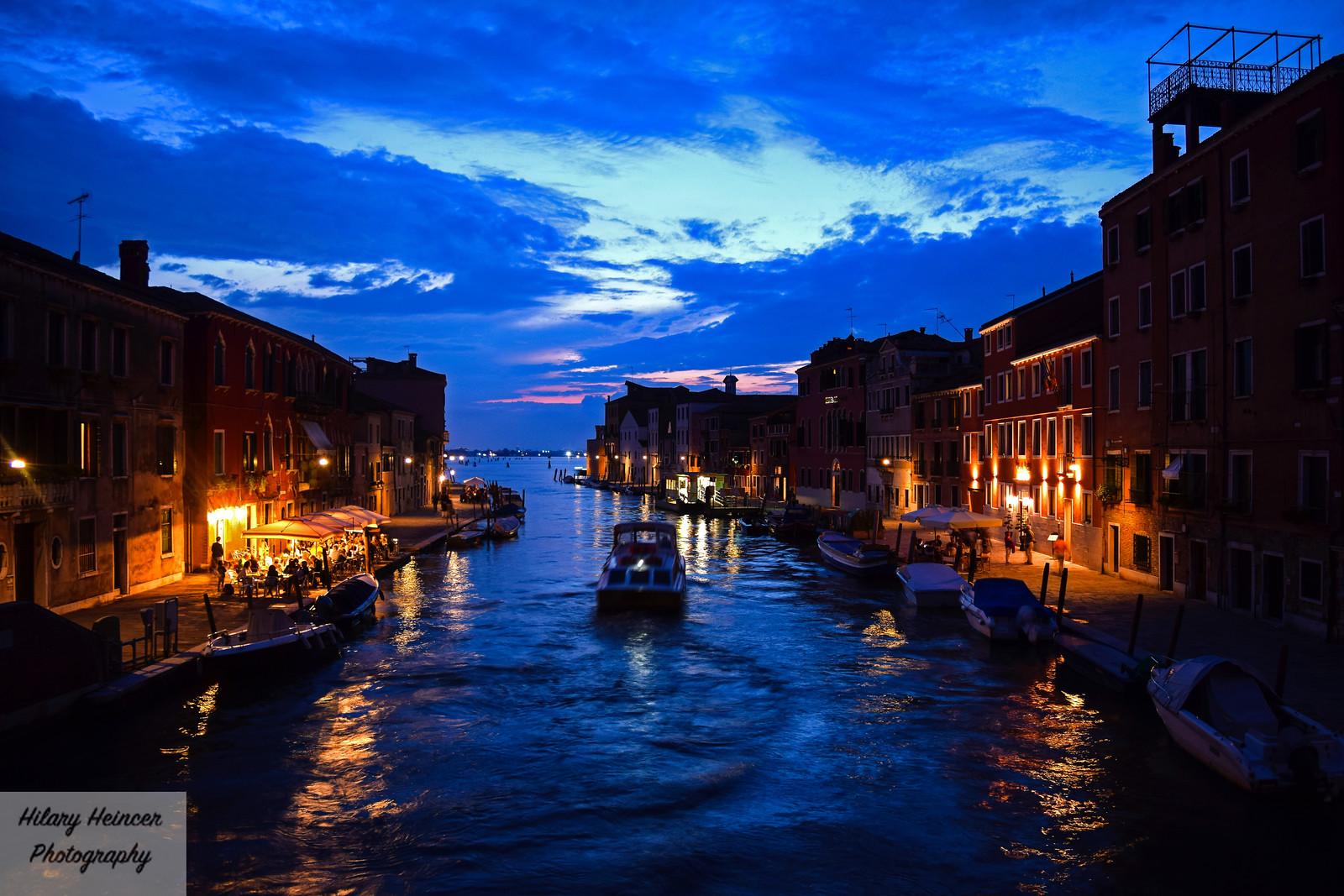 Nighttime in Venice 1