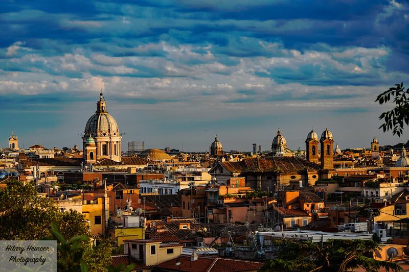 Rome Sunset 1