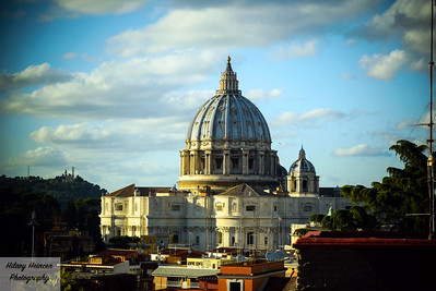 Vatican Sunset