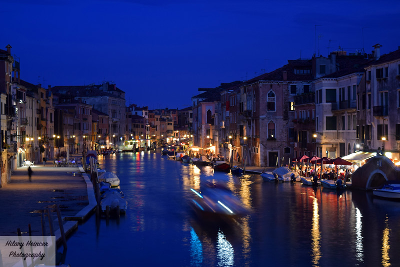 Nighttime in Venice 2