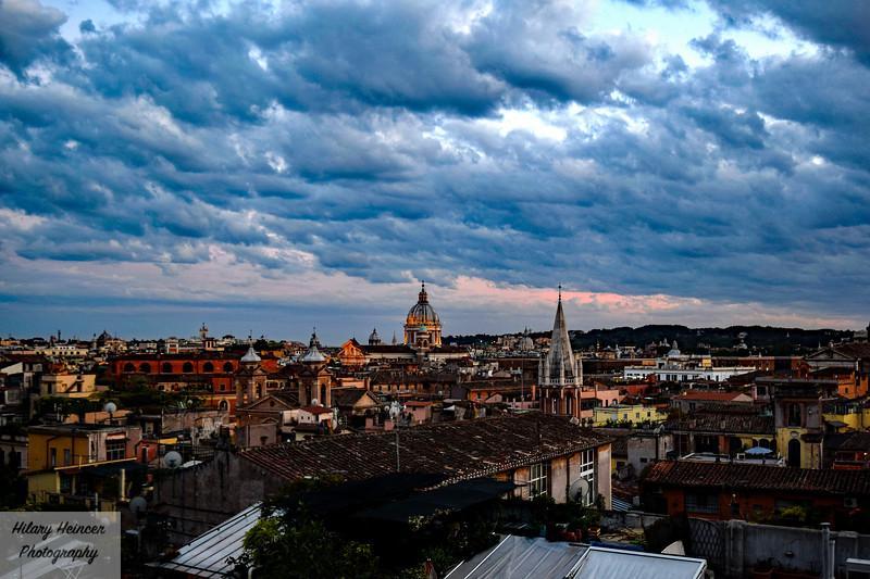 Rome Sunset 2