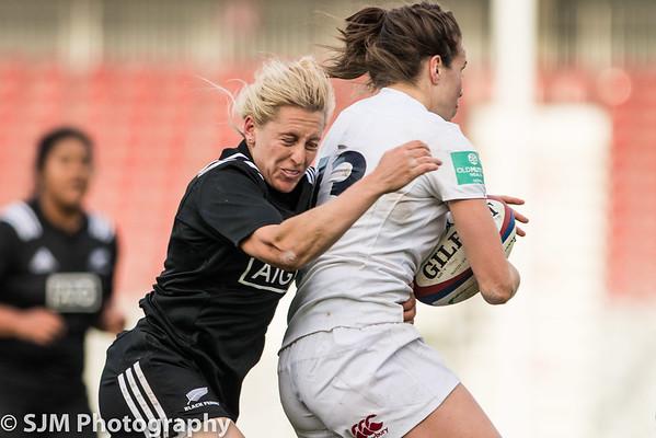 England Women's vs New Zealand Women - 19 November 2016