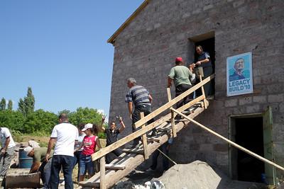 10 09-07 Work in Irind village.  gohar