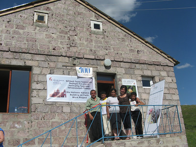 10 06-28  Milestone 100th house reached since beginning of partnership with The Fuller Center in 2008. FCH Armenia