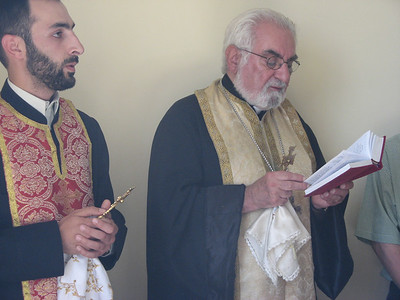 10 06-28 Pastors from Armenian Church officiate during the program.  FCH Armenia