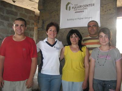 09 02-20 Arshakyan family from Haytagh village, Armavir region with U.S. Ambassador in Armenia, Marie L. Yovanovitch. lm
