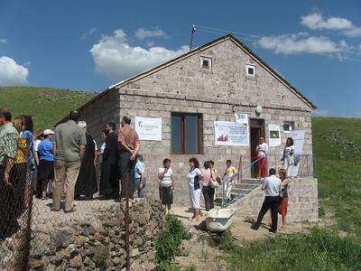 10 06-28 House dedication program.  FCH Armenia