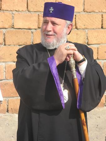 09 07-21 Haytagh village - His Holiness Karekin II, Catholicos of All Armenians. lm