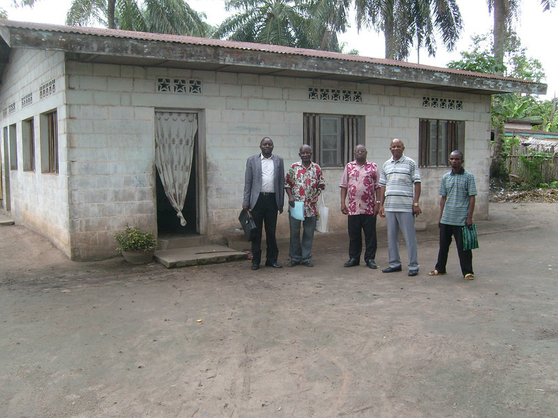 First Bokotola house built in the effort led by Millard and Linda Fuller.