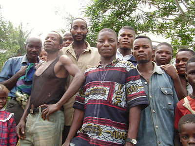 07 07 DRCongo - Congolese men ds