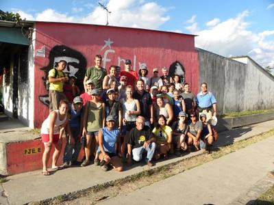 09 12-16 University of Cincinnati (UCLA) group photo with John Edwards (middle- wearing navy shirt). mb