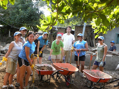09 12-17  UCLA crew working to bring flood damaged homes back in service at Huiza River area. mb