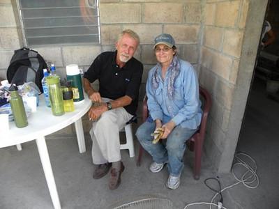 Carla Kessler and Michael Bonderer. Carla is a generous supporter of the Fuller Center.