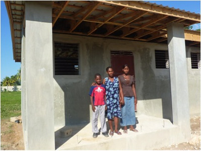 Jeannelle, Fabienne, Johnley are the first beneficiaries