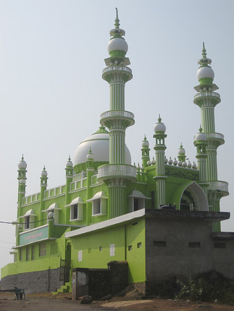 India - An ornate mosque.