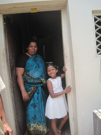 India - Mother and daughter.