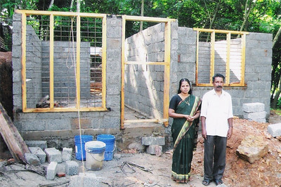 2010 05-19  Varghese family is so happy that their dream of owning their own home is coming true.  THL