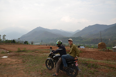 Nepal - Too rough for a car...we went by motorcycle!