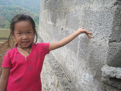 This child will soon be living in a new Fuller Center home in Nepal.