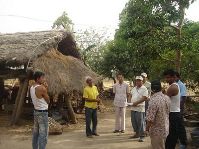 10 04-21 GB (Samuel) Tamang), Shrestha and BL of Fuller Center Nepal visit Kankad.   GBT
