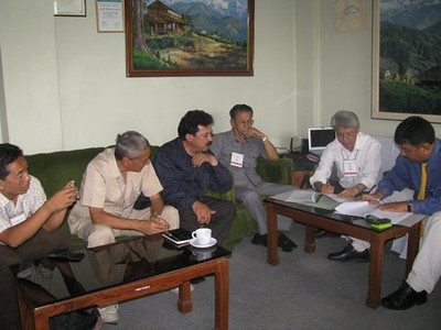 09 07-31 Project Agreement signed between SWC and FC Nepal for 5 years.  GB Tamang