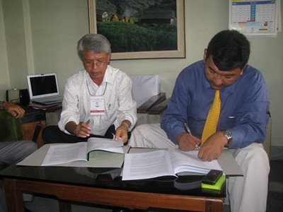 09 07-31 Project Agreement signed between SWC and FC Nepal for 5 years.  GBT