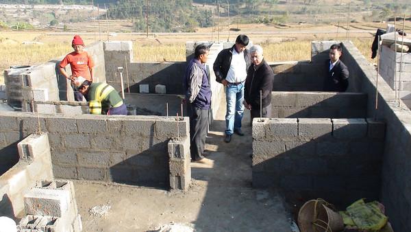 Second house underconstruction