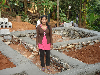 Mrs. Deepa Tamang first home owner