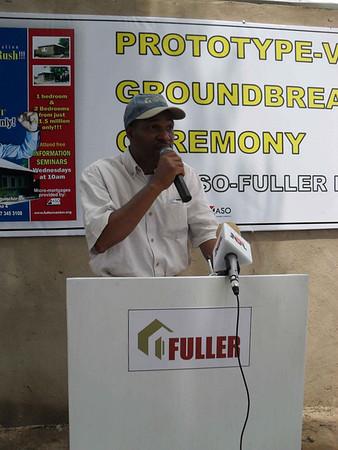 10 03-17 Fuller Center Nigeria Director Sam Odia makes introductions.  od