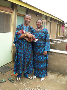 2010 05-20  Homeowner family: Pst. Ken, Vicky Obaje and baby. so