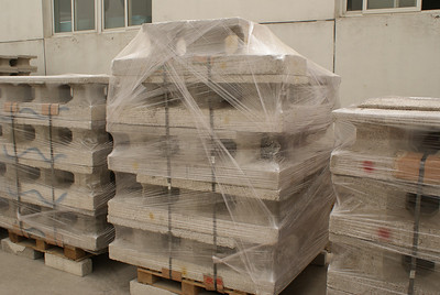 2011 04-29  Building materials awaiting shipment to North Korea.