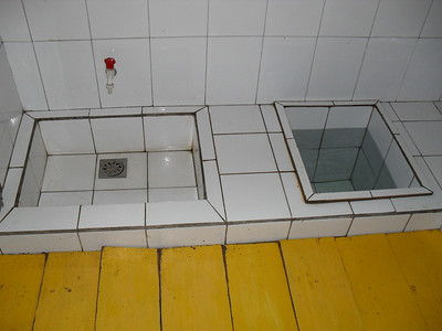 10 09 A typical kitchen sink.  ds