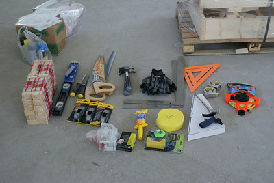 2011 05-01 Construction tools to be shipped to North Korea.