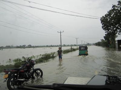 Road under water.    ranjan