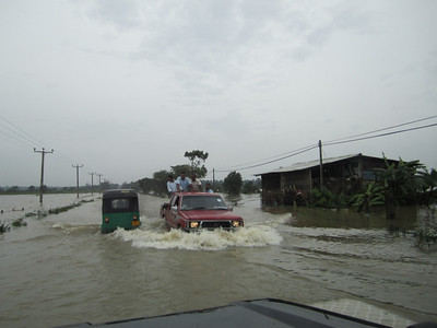 Main roads are under water. Transport was held up for days.   ranjan