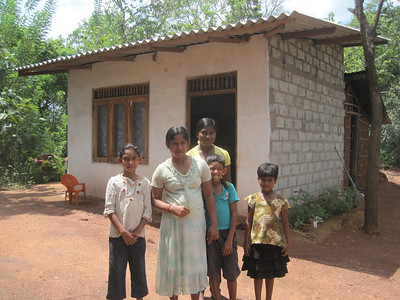 Fuller Center family partners. Much of The Fuller Center's work in Sri Lanka involves repairs and additions to existing homes.