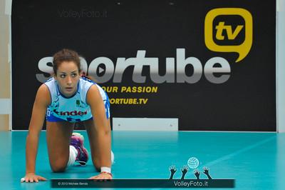 Monica De Gennaro (Italia) durante la fase di preparazione al match Italia Brasile - Alassio Cup Italia-Brasile, Alassio Cup