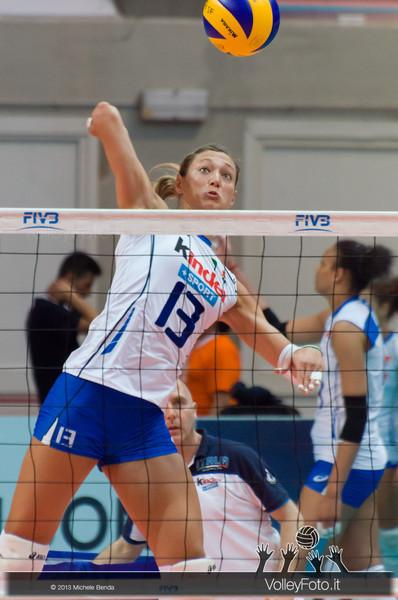 Valentina Arrighetti (Italia) in una fase del pre-partita Italia-Giappone, Alassio Cup Italia - Giappone, Italy - Japan | Alassio Cup