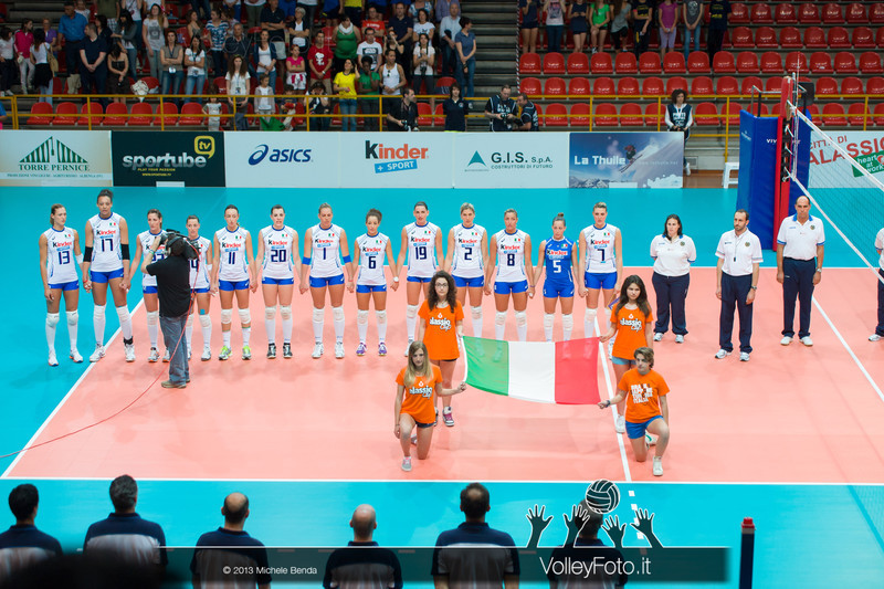 Italy National Volleyball Team during presentation at Alassio Cup 2013, Italy Italia - Giappone, Italy - Japan | Alassio Cup