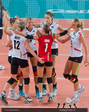 Germany celebrates a point