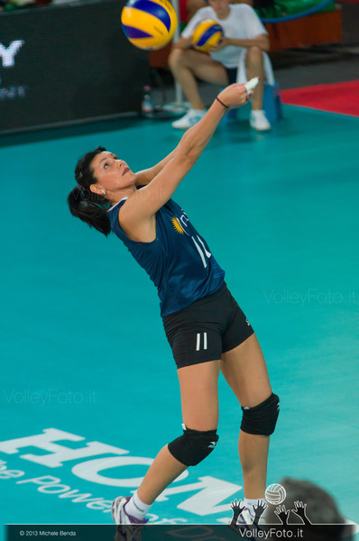 Georgina Pinedo [ARG] dig