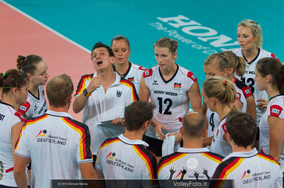 Germany time out, Giovanni Guidetti [GER Coach]