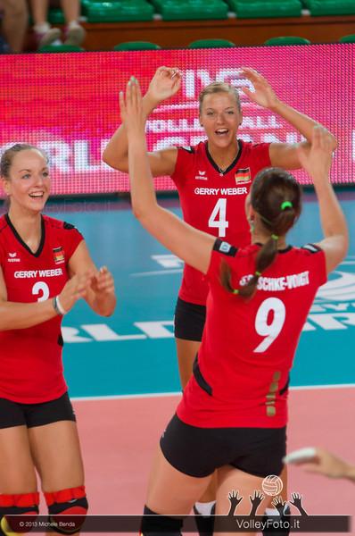 Denise Hanke, Maren Brinker, Corina Ssuschke-Voigt [GER]