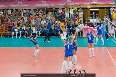 l'Italia esulta per la vittoria