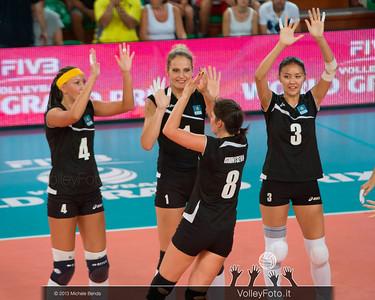 Kazakhstan starting six - Lyudmila Anarbayeva, Tatyana Mudritskaya ,Korinna Ishimtseva, Sana Jarlagassova