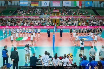 Italia, Kazakhstan presentation
